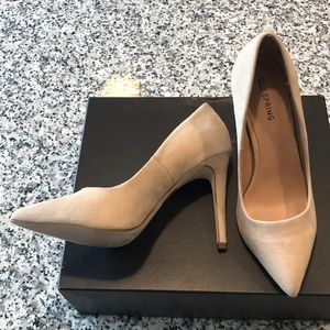 Classic cream pump for any occasion!